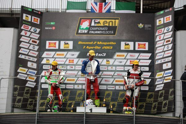 CIV Podium Race 2