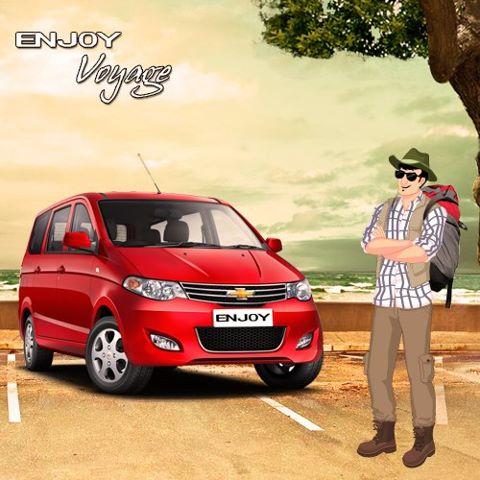 Chevrolet Enjoy MPV Launch