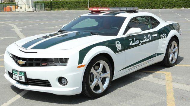 Dubai Police Camaro SS