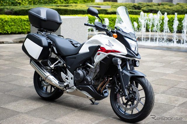 Honda CB400X adventure touring