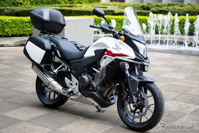Honda CB400X adventure touring