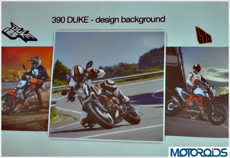 KTM Duke 390 Design