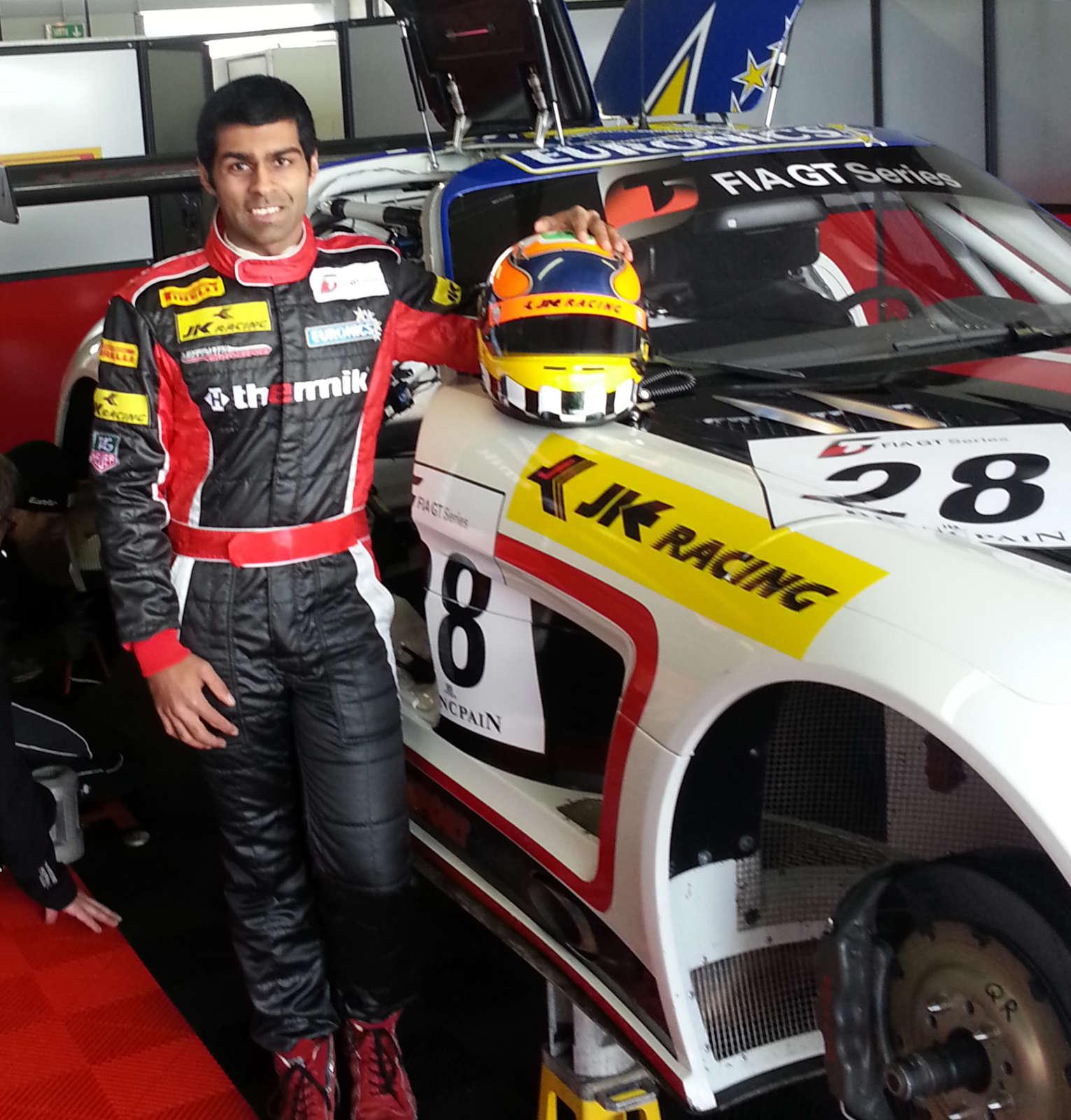 Karun Chandkok FIA GT