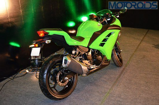 Kawasaki Ninja 300 India Price Launch Pics