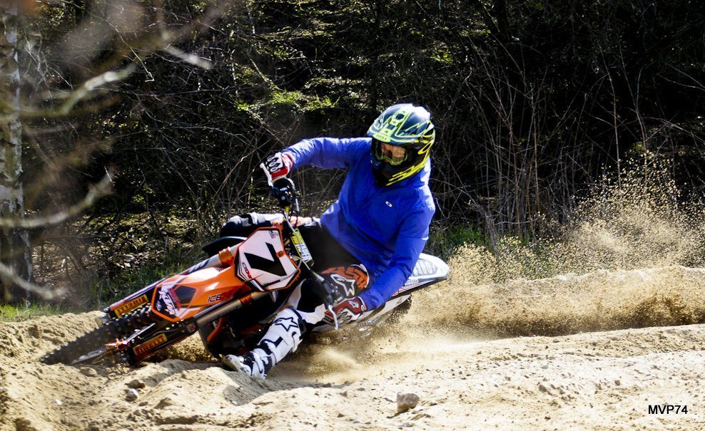 Kimi Raikkonen MotoCross-2