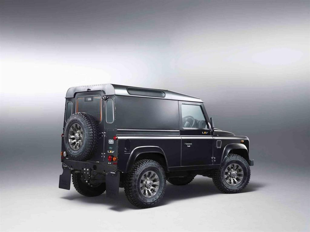 Land Rover LXV special edition