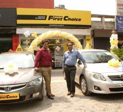 Mahindra First Choice Wheels Edition Gaurav Kalra Owner Concierge Luxuryy and Yatin Chadha VP Retail Business Franchise