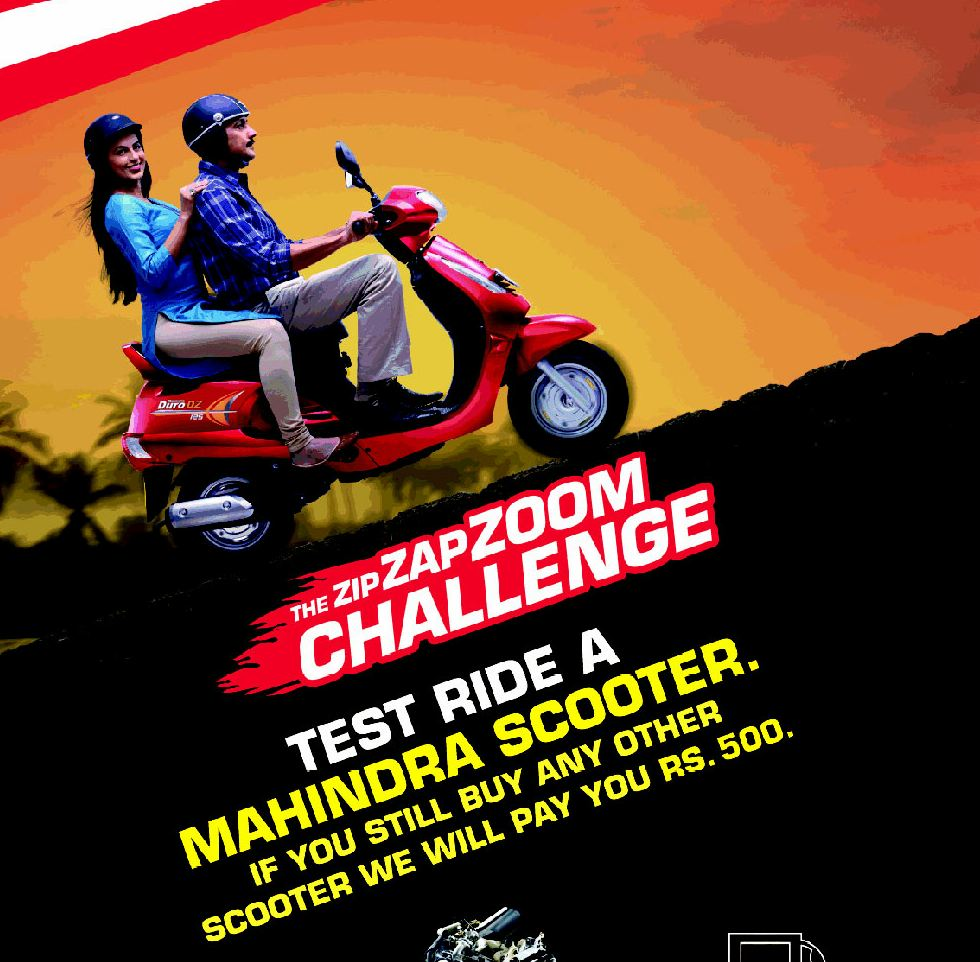 Mahindra Zip Zap Zoom challenge