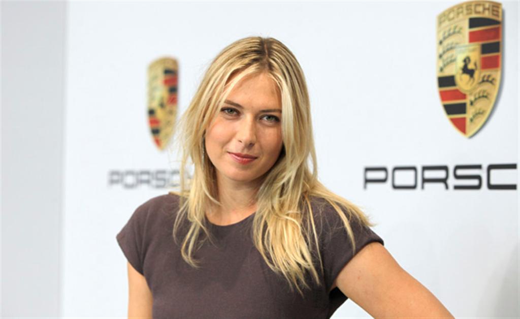 Maria Sharapova Named Porsche Brand Ambassador