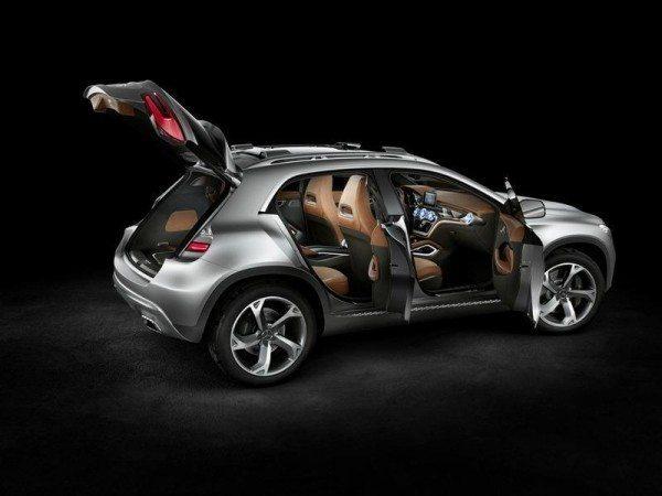 Mercedes GLA Concept 3