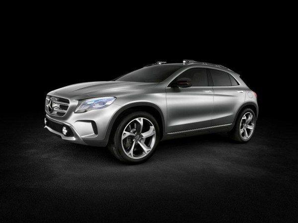 Mercedes GLA Concept 4