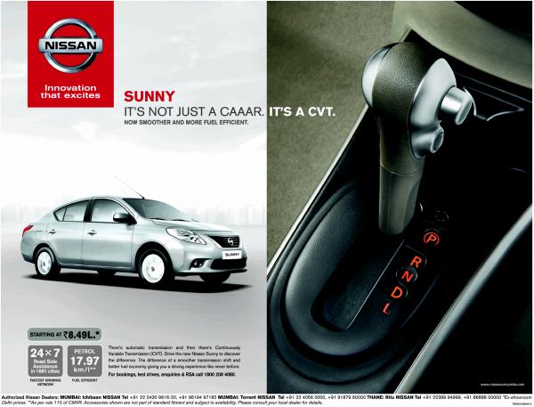 Nissan Sunny CVT Auto Price