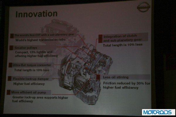 Nissan Sunny Xtronic CVT (11)