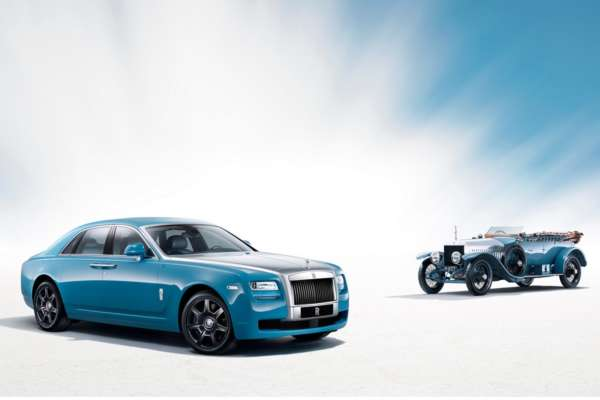 Rolls-Royce Ghost Alpine Trial Centenary Collection 1