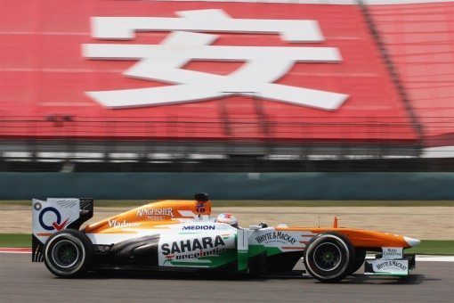 Sahara Force India Formula 1 UBS Chinese Grand prix