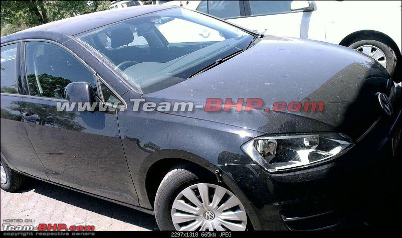 VW Golf India 1