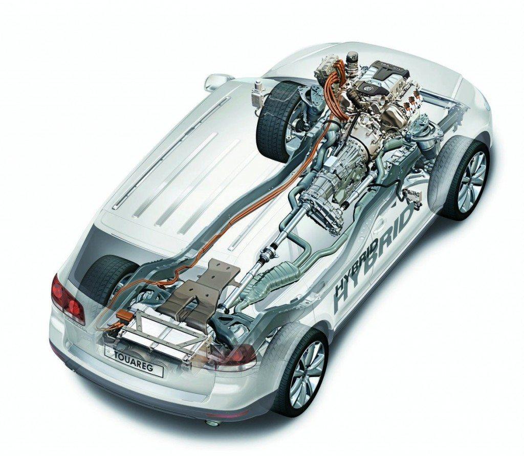 Volkswagen hybrid engine