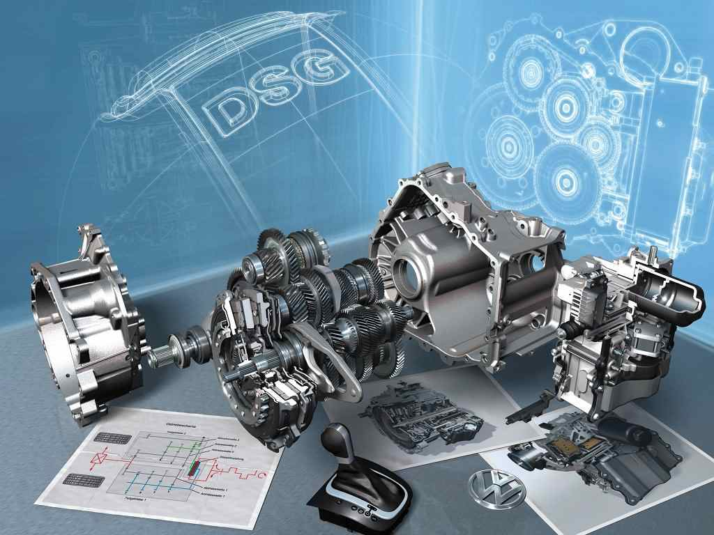 Volkswagen ten speed DSG gearbox
