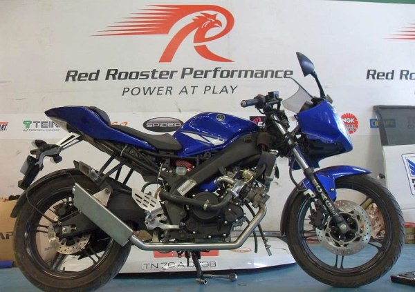 Yamaha R15 Turbocharged