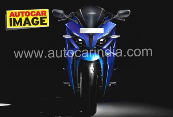 Do we have hints of YZF-R1 in Bajaj Pulsar 375cc variant's styling?