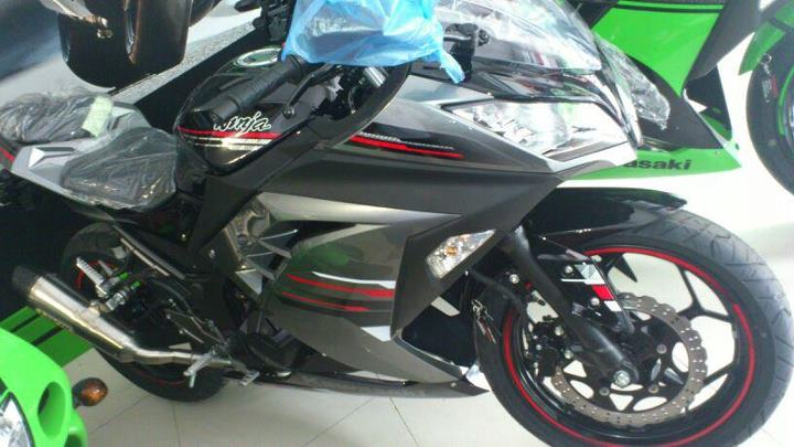 2013 Kawasaki Ninja 250R special edition