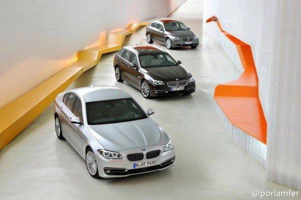2014 BMW 5 Series LCI 1