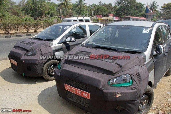 Hyundai BA to sit between the i10 and the i20 in Indian car market