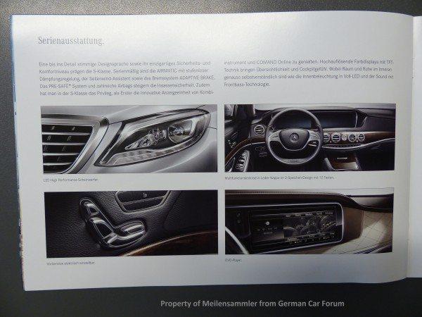 2014 Mercedes S Class Brochure Images 1