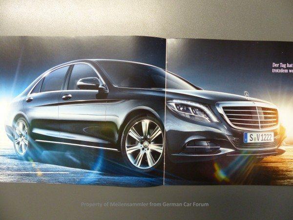 2014 Mercedes S Class Brochure Images 11