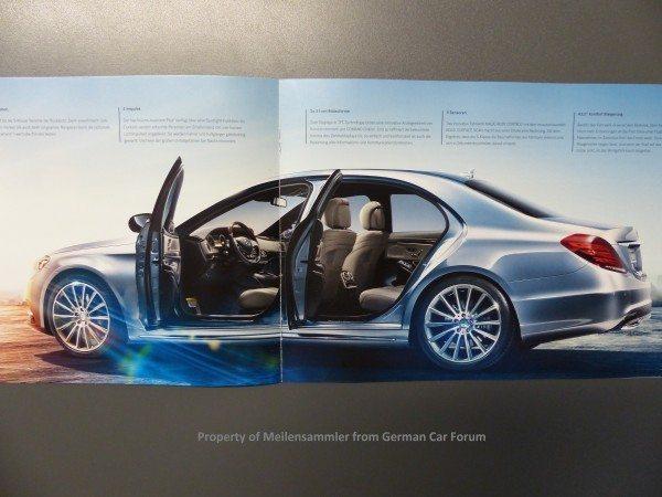 2014 Mercedes S Class Brochure Images 12