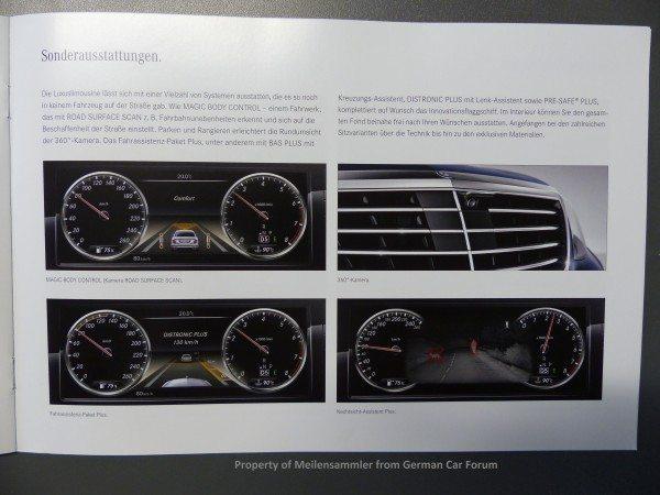 2014 Mercedes S Class Brochure Images 2