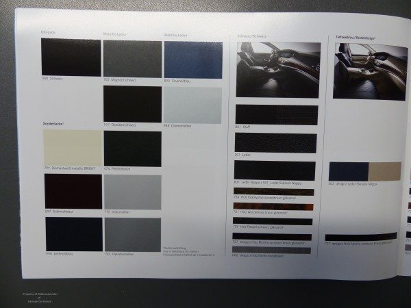 2014 Mercedes S Class Brochure Images 5