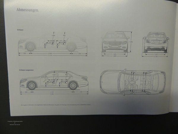 2014 Mercedes S Class Brochure Images 6