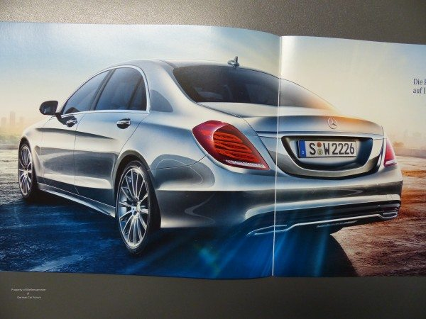 2014 Mercedes S Class Brochure Images 9