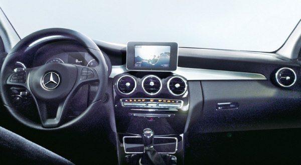 2015-Mercedes-C-Class-interior-pics-launch