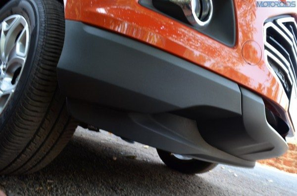 200mm of ground clearance