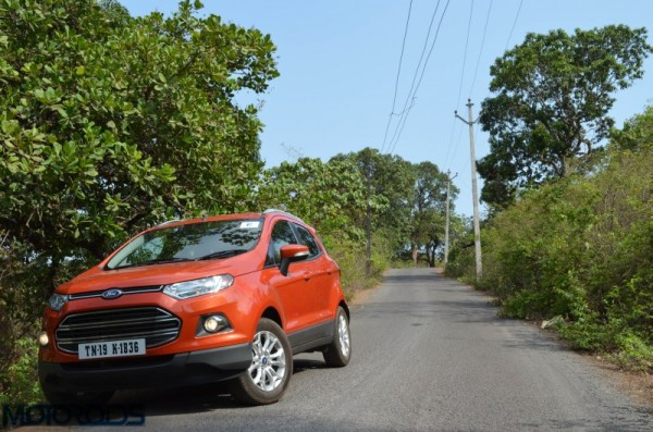 Ford EcoSport Facelift MCA