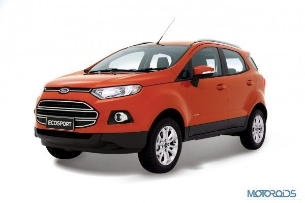 Ford Ecosport official images India (13)