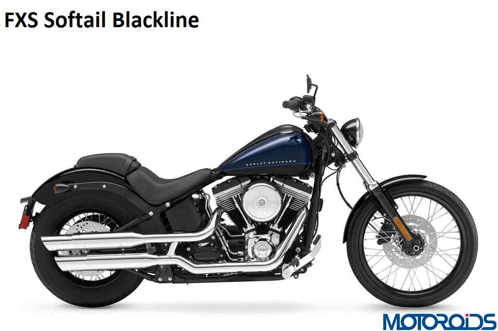 Harley Davidson FXS Softail Blackline