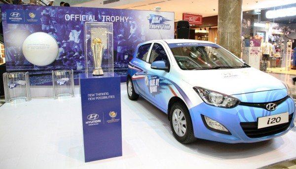 Hyundai commences Trophy Tour for ICC Champions Trophy 2013
