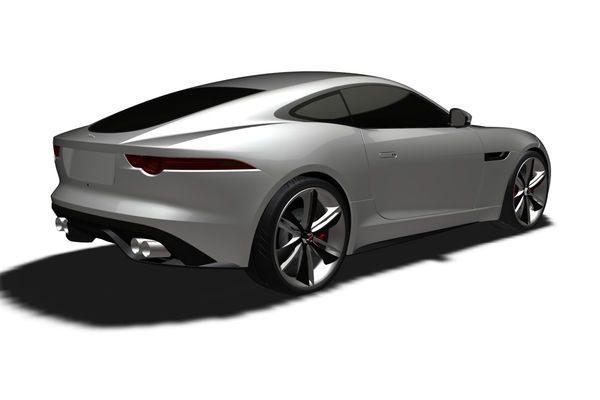 Jaguar F Type Coupe Pics 6