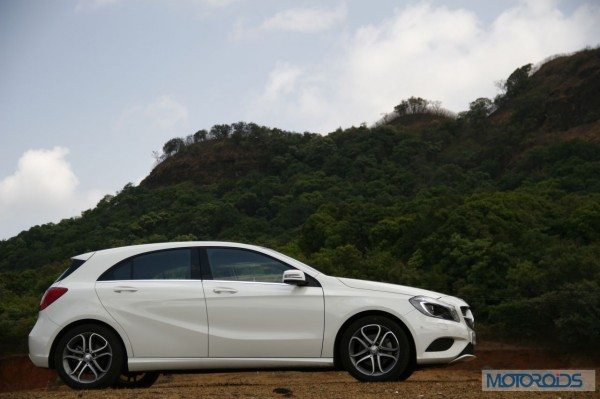 Mercedes A Class A180 Bluew efficiency India review (98)