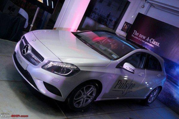 Mercedes A Class India Launch Pics 1