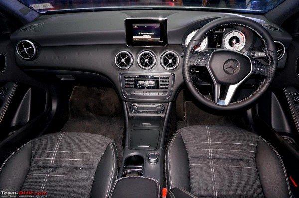 Mercedes A Class India Launch Pics Interiors 1