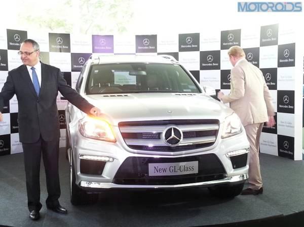 Mercedes GL Class India Launch PIcs-1