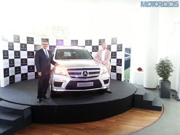Mercedes GL Class India Launch PIcs-3