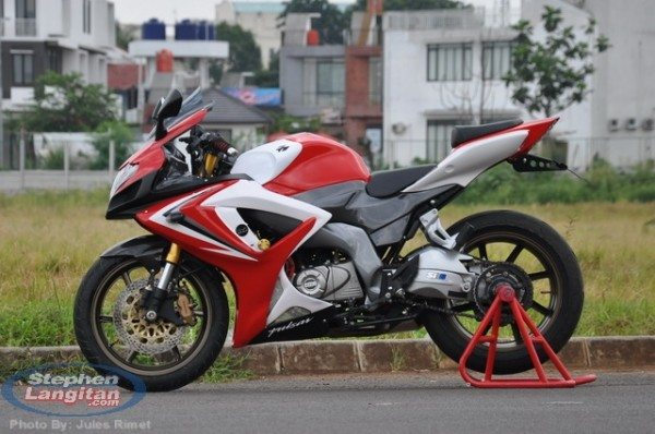 Modified Bajaj Pulsar 220 Rouser 220 1