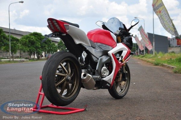 Modified Bajaj Pulsar 220 Rouser 220 3