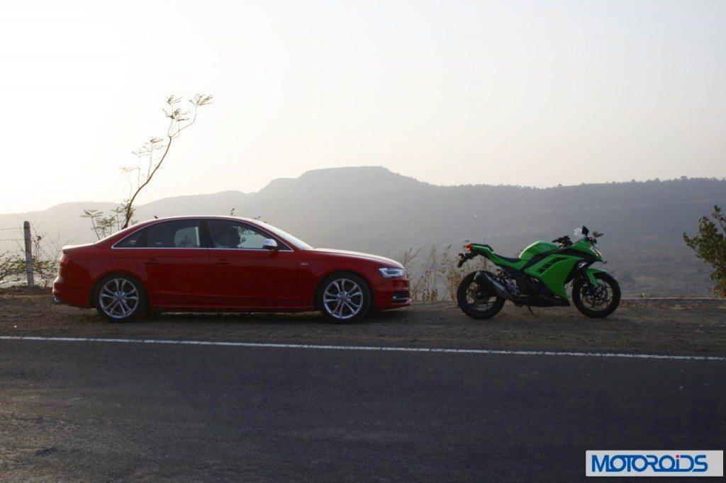 Ninja-300-Vs-Audi-S5-10