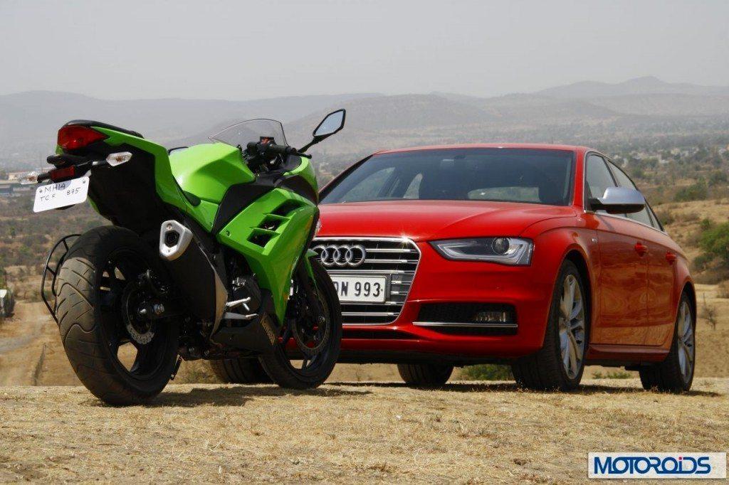 Ninja-300-Vs-Audi-S5-2